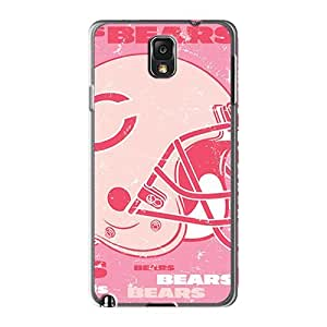 Protective Hard Phone Cases For Samsung Galaxy Note 3 With Unique Design Beautiful Chicago Bears Pictures Casesbest88