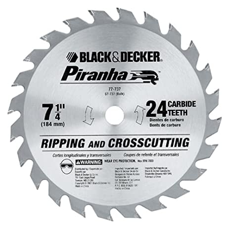 Black decker 77 737 piranha 7 14 inch 24 tooth atb thin kerf black decker 77 737 piranha 7 14 inch 24 tooth greentooth Choice Image