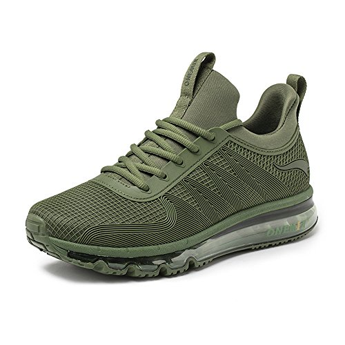 Verde Alta de Unisex ONEMIX Adultos Caucho Zapatilla Oscuro P4qUFwAY