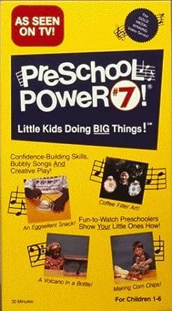 c6f9d023c3 Amazon.com  Preschool Power 7  VHS   Preschool Power  Movies   TV