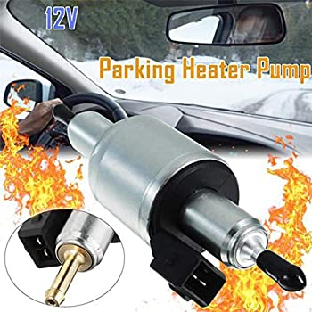 12V//24V for 1KW to 5KW Electric Heater Oil Fuel Pump Air Parking Heater Stainless Oil Diesel Fuel Warmming Car Pump Truck Oil Fuel Pump Pulse Metering Pump Auto Accessories