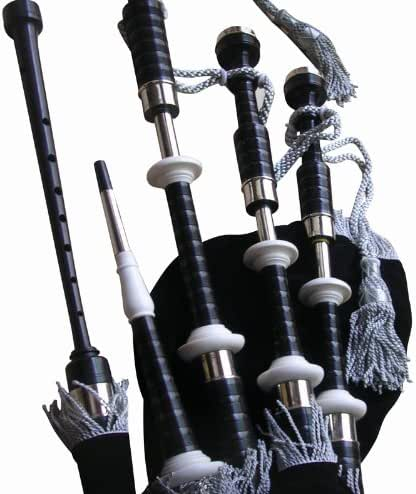 Great Highland Bagpipe Starter Package (African Blackwood)