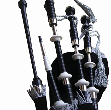 8d1928f38077 Amazon.com  Great Highland Bagpipe Starter Package (African Blackwood)   Musical Instruments