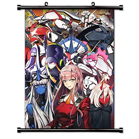 darling in the franxx HD Canvas Print Wall Poster Scroll Room Decor