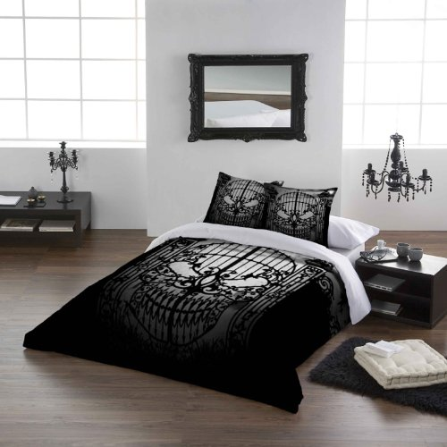 Alchemy Gothic Abandon No Hope USA Queen Duvet /Comforter Cover Set 89