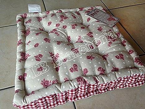 Cuscino Arredo Mattonella - Cuscino sedia tipo materasso \