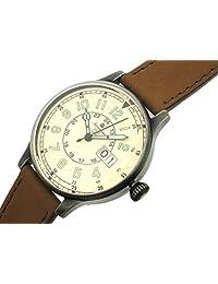 Aeromatic 1912 Retro Styled Aviator Quartz Watch, Aged Patina Case A1254