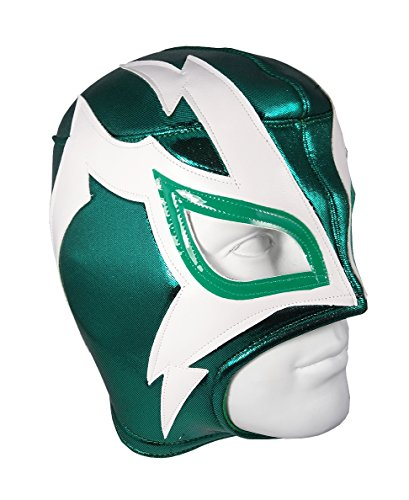 [SHOCKER Adult Lucha Libre Wrestling Mask (pro-fit) Costume Wear - Green] (Shocker Costume)