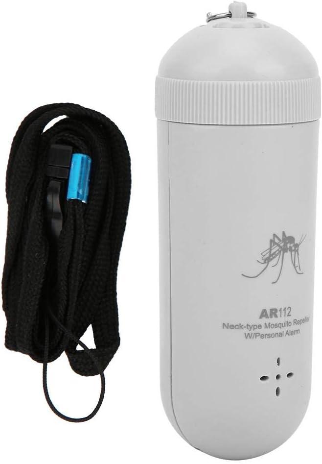 Mxtech Repelente de Mosquitos, Mini Repelente de Mosquitos ultrasónico portátil Repelente de Insectos para Viajes al Aire Libre (plásticos sintéticos orgánicos)