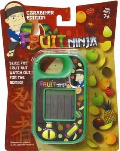 Amazon.com: Fruit Ninja Mini Handheld Game Carabiner Edition ...