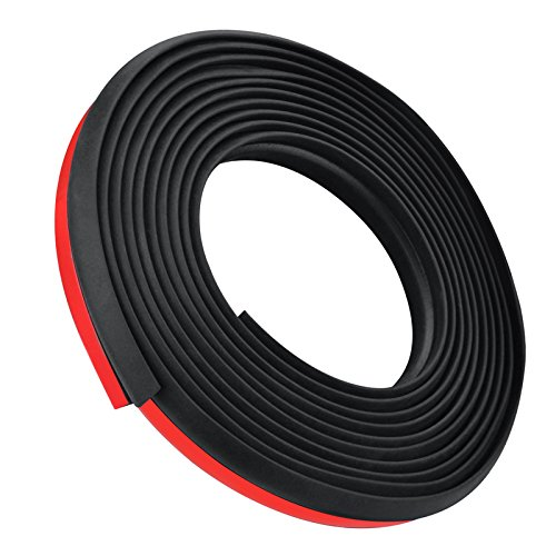 Daphot Store - Universal 4M Z Type Car Door Seal Strip Rubber Waterproof Trim Sound Insulation Soundproof Strip Weather Strip Hollow