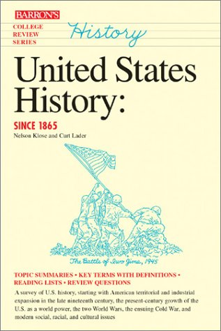 United States History: Since 1865 (Barron's College Review Series)