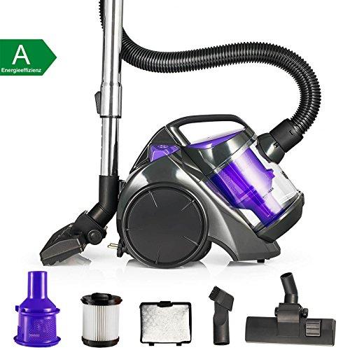 Balter Vento A2Aspirateur traîneau cyclonique sans sac cyclonique aspirateur aspirateur Filtre Hepa avec accessoires couleurâ€
