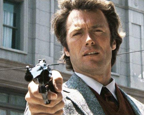 Clint Eastwood in Dirty Harry classic pointing gun 'Do you Feel Lucky 16x20  Poster at Amazon's Entertainment Collectibles Store