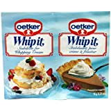 Dr. Oetker Whip It, 0.35-Ounce Package (Pack of 30)