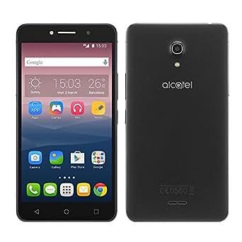 """Smartphone Alcatel Pixi 4, 6""""hd, 3g, Android 5.1, 13mp, 8gb - Preto"""