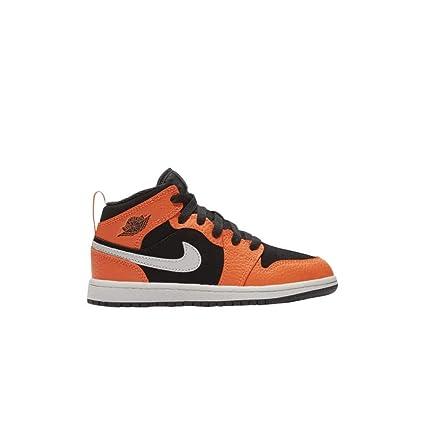 reputable site 9c415 e5a90 Amazon.com : Nike Air Jordan 1 Mid PS 640734-062 Black Cone ...