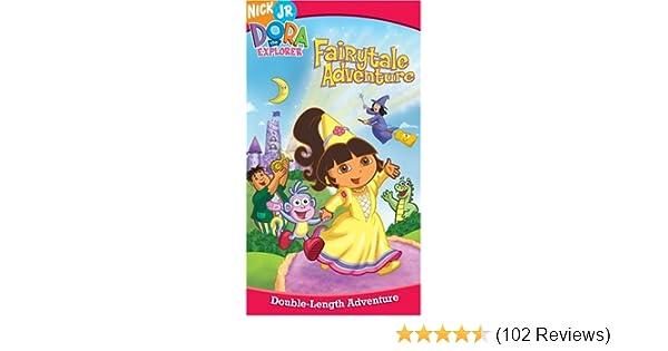 Amazon.com: Dora the Explorer - Dora\'s Fairytale Adventure [VHS ...