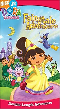 Amazon Com Dora S Fairytale Adventure Vhs Dora The Explorer