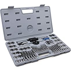 60-Piece Master Tap and Die Set - Includ...