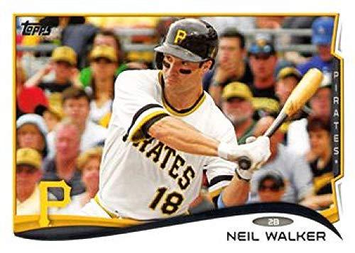 2014 Topps Series 2 Baseball #512 Neil Walker Pittsburgh Pirates Official MLB Trading Card