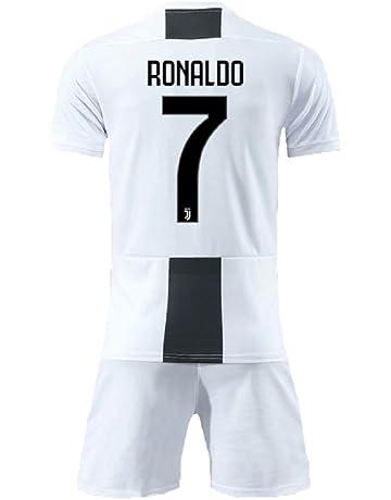 21319fafb16 Bamerand Youth Ronaldo Jerseys Juventus # 7 Kid's(Boy's) Soccer Jersey  2018/2019