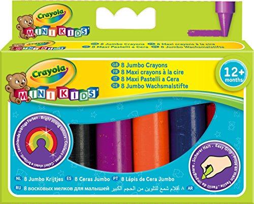 Crayola 2 008 Beginnings Jumbo Crayons