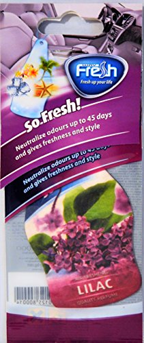 lilac car air freshener - 1