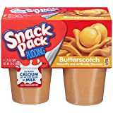 Snack Pack Butterscotch Pudding Cups, 4 Count
