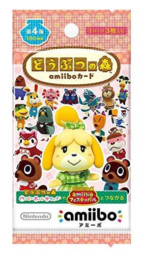 동물의 숲 amiibo 카드 제 4 탄 (1 팩 단품) [video game] / Doubutsu no Mori amiibo Card Vol. 4 (1 pack) [Video game]