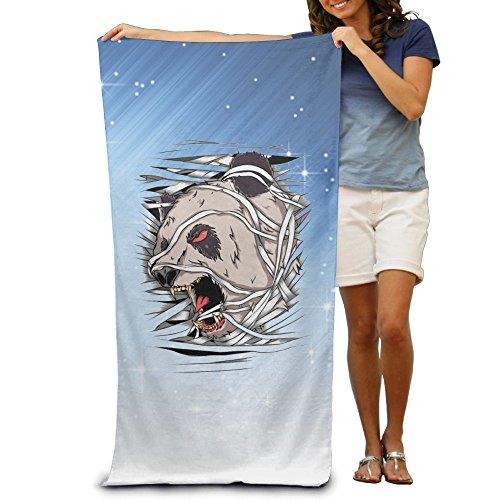 Kung Fu Panda Costume Pattern (ShanxianP Scary Panda Soft Absorbent Beach Towel Pool Towel 3050)