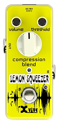 XVive XVV9 Lemon Squeezer Compressor Guitar Effects Pedal by Xvive