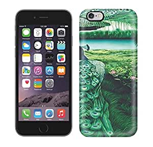 New Premium Case Cover For Iphone 6 Plus/ PEACOCKS Art NO.9 Protective Case Cover by icecream design