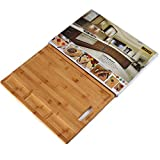 Large Organic Bamboo Cutting Board For