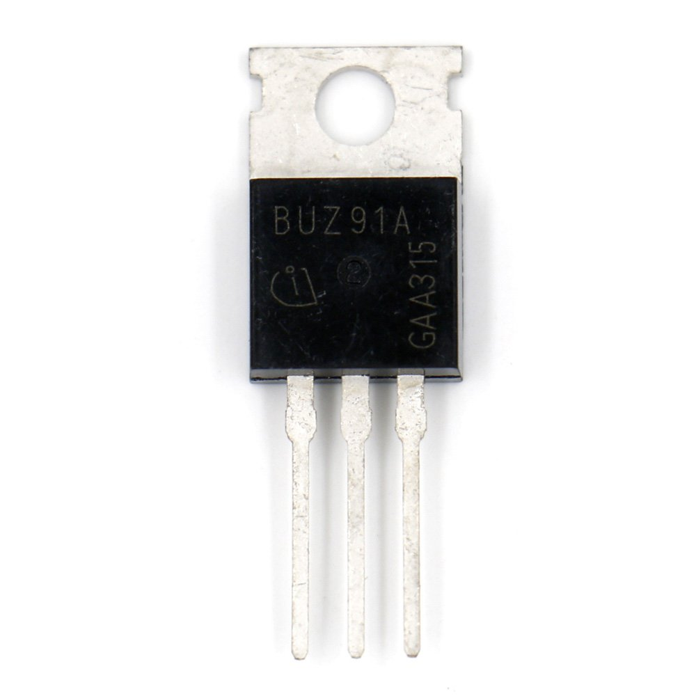 Baomain Transistor BUZ91A 30V 60A N-channel Power MOSFET 5 pack