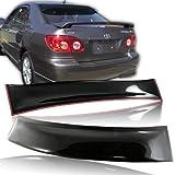 2008-2011 Toyota Corolla ABS Rear Sun Roof Visor Rain Shadow Vent Deflect Spoiler