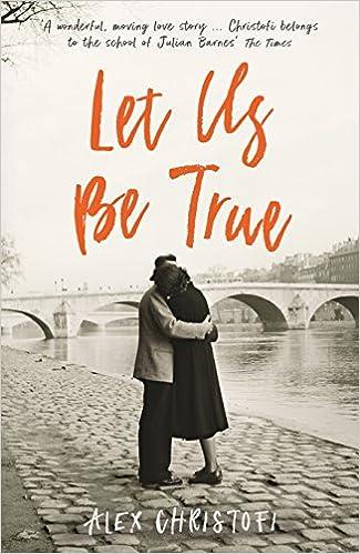 Cover: Alex Christofi Let us be true