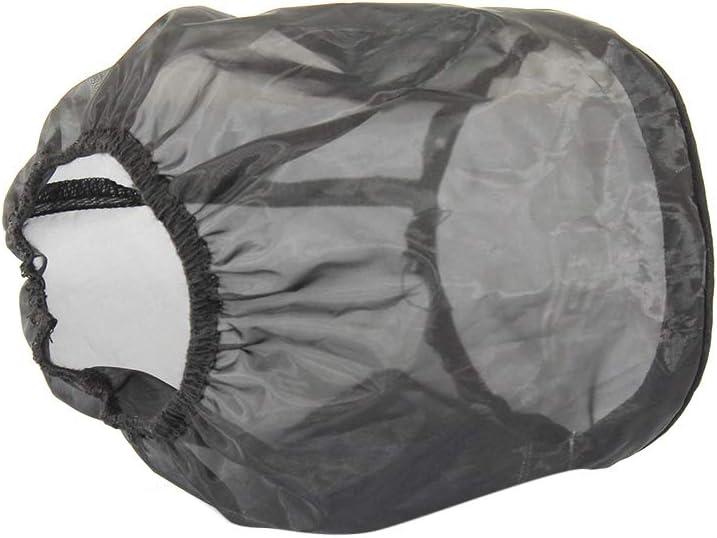 KKmoon Universal Air Filter Protective Cover Waterproof Oilproof Dustproof for High Flow Air Intake Filters Big