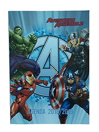 Bagtrotter - Agenda escolar (años Avengers - 12 x 17 cm ...