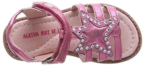 Agatha Ruiz de la Prada 162957-C - Sandalias para niñas Rosa