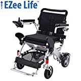 "Ezee Life - 3G DLX Folding Electric Power Wheelchair w/8"" Rear Wheels"