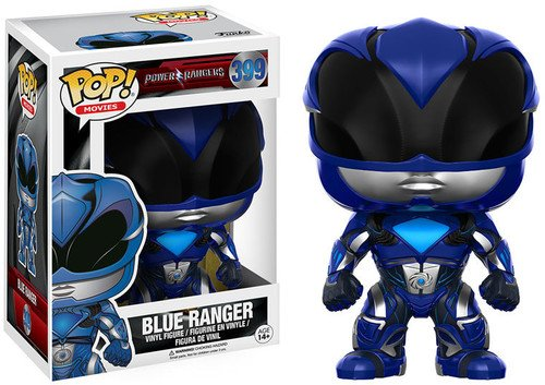 Funko POP Movies Power Rangers Blue Ranger Toy Figure 12345 Accessory Toys /& Games Miscellaneous