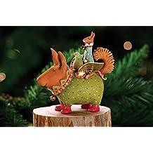Patience Brewster Krinkles Terrier Carrier Dog Christmas Ornament