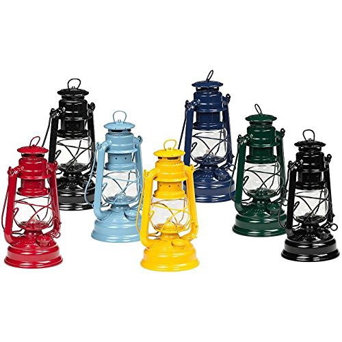 Feuerhand Galvanized Lanterns Dusty Blue (The Lantern Feuerhand)