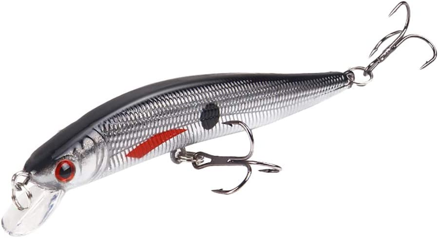 Se/ñuelo de Pesca Artificial de 10 cm con Anzuelo collectsound
