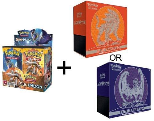 Pokemon TCG Sun & Moon Booster Box + Elite Trainer by Pokémon