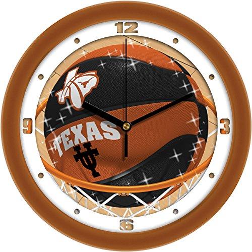 SunTime NCAA Texas Longhorns Slam Dunk Wall Clock ()