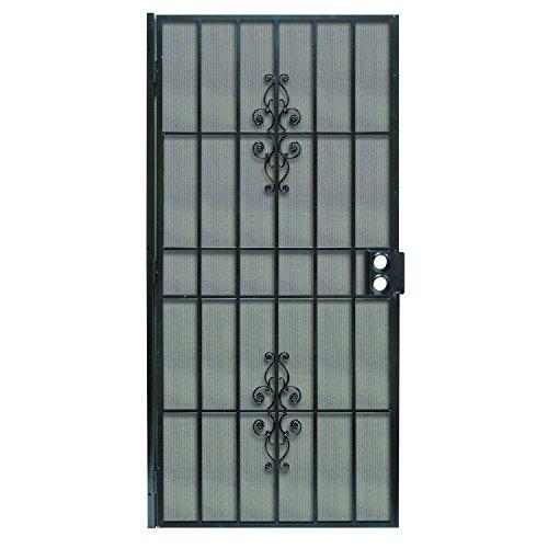 Prime-Line Products 3853BK3068-WF Flagstaff Steel Security Door