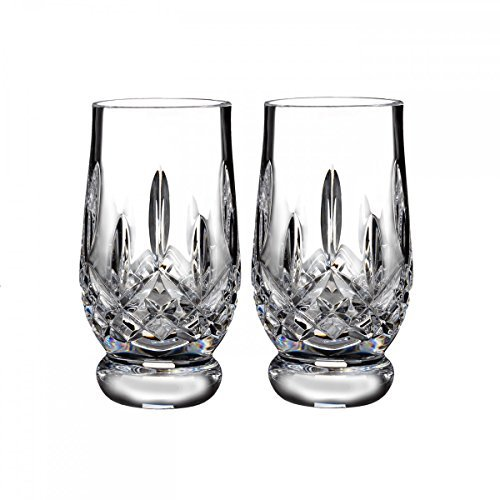 - Waterford Crystal Lismore Footed Whiskey Tasting Tumbler Glass Glassware Set of 2 5.5 fl oz