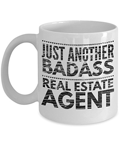 Just Another Badass Real Estate Agent Mug - Cool Coffee Cup